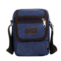Travel Duffle High Quality Canvas Men S Bag Zipper Shoulder Bag Small For Man Multi Functional