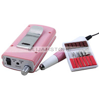 Professional Beauty Nail Art Nail Products Manicure Tools Polished Portable Rechargeable Nail Garners Pink EU Power