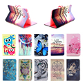 Owl Tiger Van gogh Printing PU Leather Stand Case Cover For Samsung Galaxy Tab3 7.0 Lite T110 T111 Tablet T113 T116 case