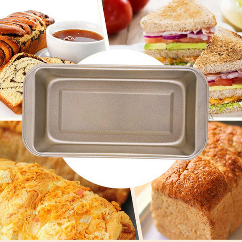 1pc Rectangle Carbon Steel Bakeware with Non Stick Coating for Quick and Effortless Food Release Suitable for Bread Recipes 15
