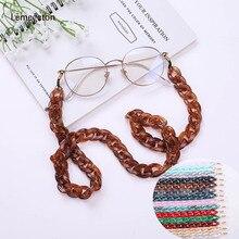 Acrylic Glasses Chain Cord Sunglasses Strap & Largands Eyeglass Anti-slip Holder Neck