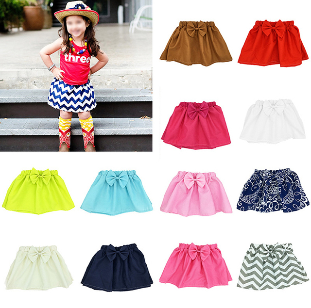 9dc75e6818b0 1 Years Old Baby Girls Tutu Skirt Bow Tie Children Kids Pettiskirt ...