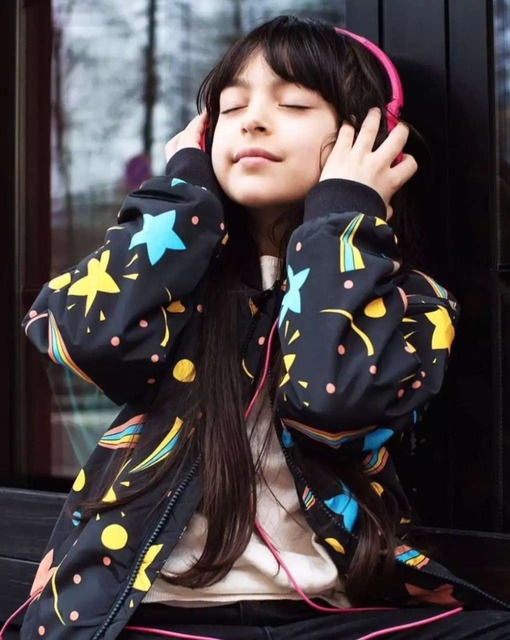 starry sky coat bobo choses children's clothing Yebaby store
