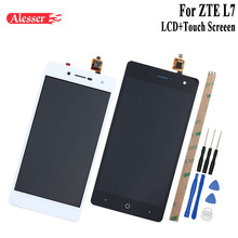 Alesser For ZTE Blade L7 LCD Display and Touch Screen 5.0 Inch Replacement Mobile Phone Accessories+Tools For ZTE Blade L7 A320