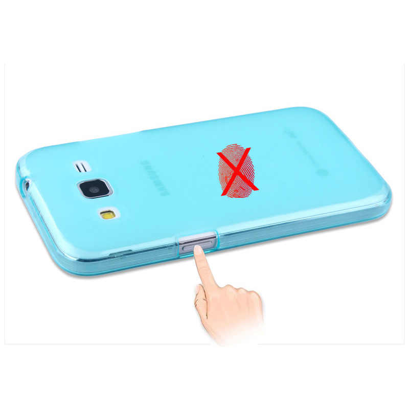 Lembut TPU Case Cover UNTUK SAMSUNG GALAXY CORE Prime G360 G360H G360F G361H G361F Silikon Case Pelindung Ponsel Penutup Belakang kulit