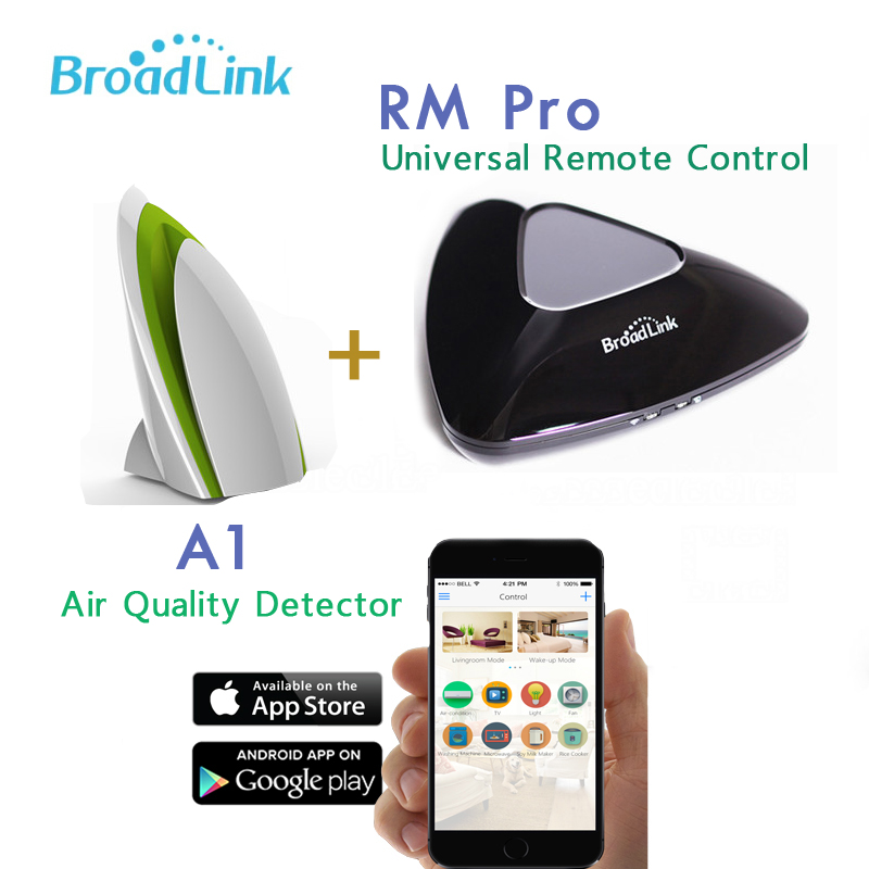 Broadlink Rm Pro RM2, Control with Android and IOS+A1 Air Purifier Intelligent,Air Quatily Detector Testing,Smartphone Control air emission control handbook