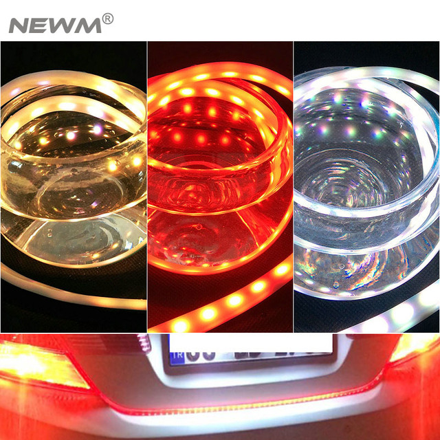 47 49 ice blue red yellow white led strip rear trunk tail light 47 49 ice blue red yellow white led strip rear trunk tail light aloadofball Images