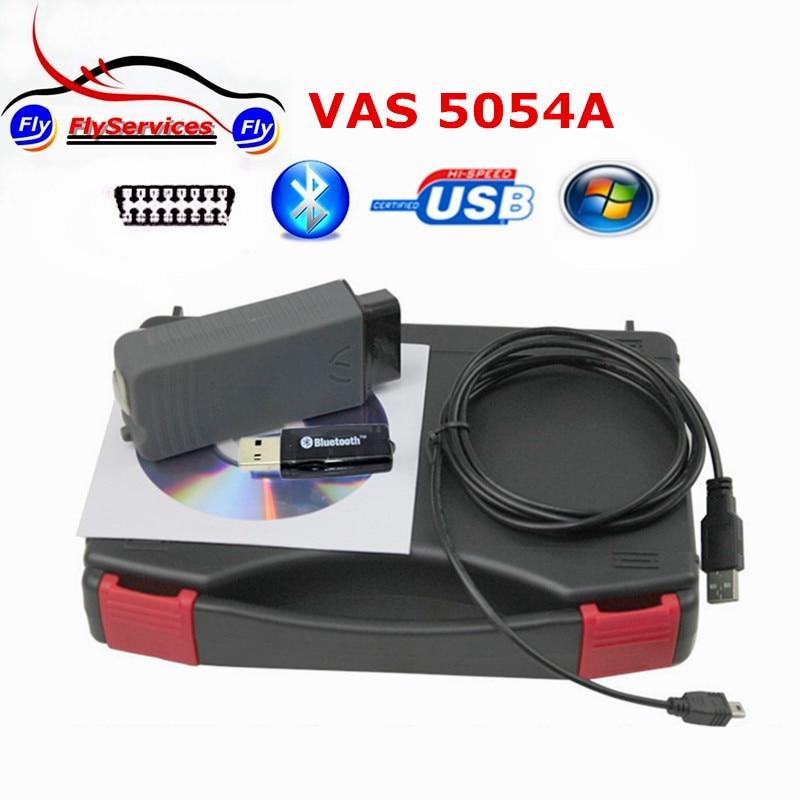 Цена за Профессиональный Vas5054a Bluetooth ODIS V4.13 VW Bluetooth VAS5054 VAS 5054 VAS 5054a диагностический Поддержка Multi-Язык