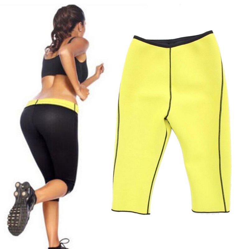 5a1c6c0316073 LYP Neoprene Women Body Shaper Slim Bodysuit Elasticity Training Corset  Slim Fitness Sport Leggings Yoga Pants Shapewear-in Yoga Pants from Sports  ...