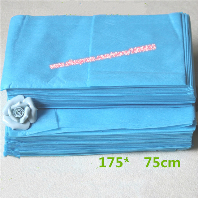 Blue Disposable Bed Sheet Beauty Salon SPA Massage Medical Care Non Woven  Fabrics Sheets Mattress