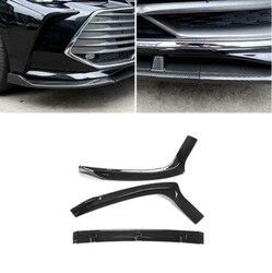 3 sztuk/zestaw ABS farby przedni zderzak samochodowy spojler wargi  Auto przedni zderzak samochodowy dyfuzor pokrywa dla Toyota Avalon 2019 2020