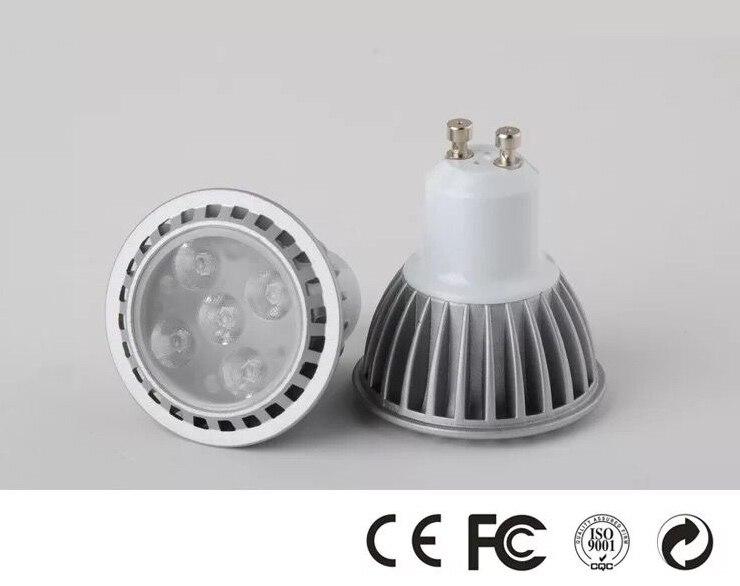 Бесплатная доставка Gu10 SMD 6 Вт * 10 шт. 450lm 85-265vac 50*59 мм 3000 К 6000 К LED пятно света оптовые