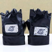 Anime Naruto Kakashi Ninja Gloves Cosplay Costume for Halloween