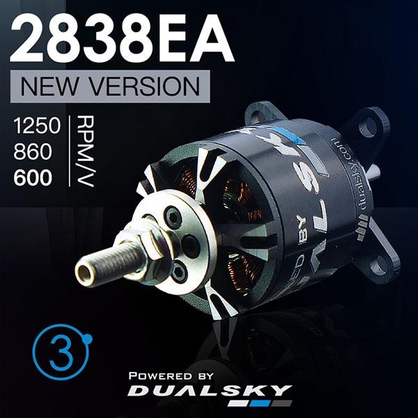 جديد وصول! DUALSKY XM2838EA 10 1250KV V3 Outrunner فرش السيارات ل RC طائرة-في قطع غيار وملحقات من الألعاب والهوايات على  مجموعة 1