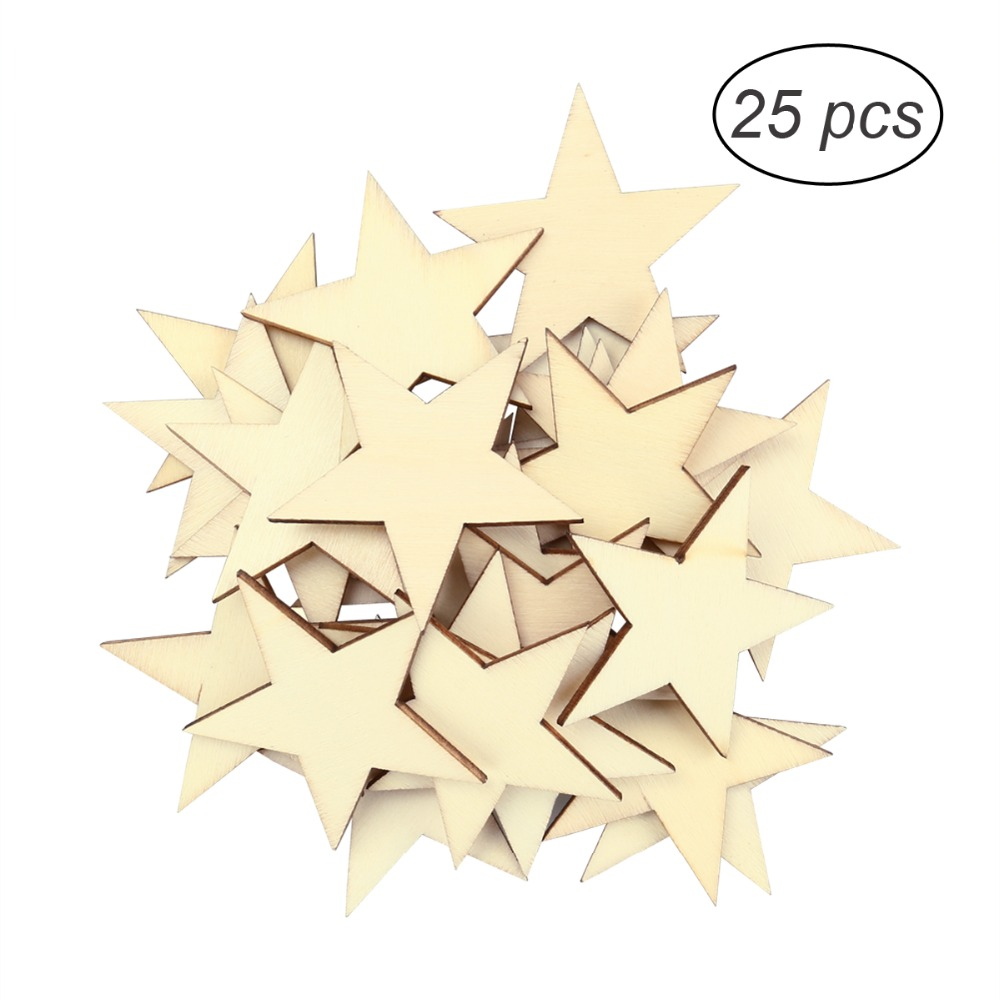 Crafts Freestanding 18mm thick  large MDF Wooden star Christmas Shape