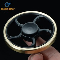 Leadingstar Hand Fidget Spinner Creative Round Spinner for Kids Adult and ADHD Relief Focus Anxiety Stress Gift