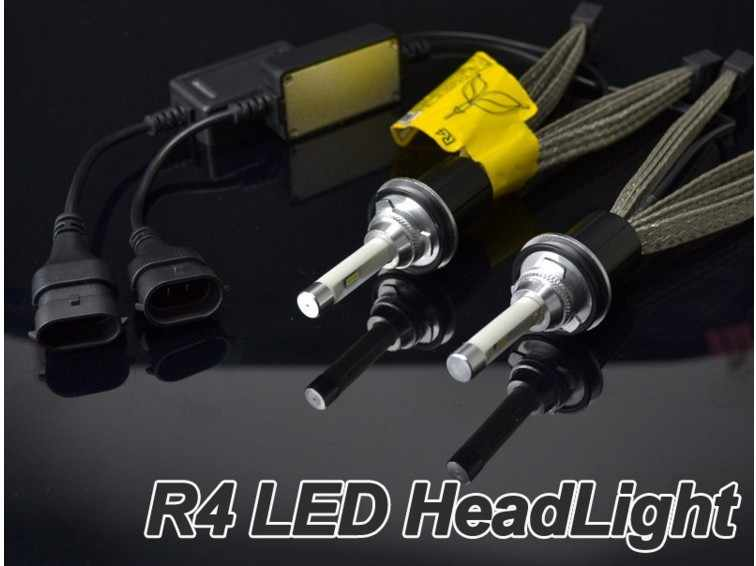 10 sets 2016 NEW 12V/24V Car LED Headlight H1 H7 9005 9006 H9/H11 H4 H13 9004/9007 R4 led auto headlight super bright 3600LM