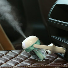 10pcs lot 12V Car Steam Humidifier Air Purifier Aroma Diffuser Essential oil diffuser Aromatherapy Mist Maker