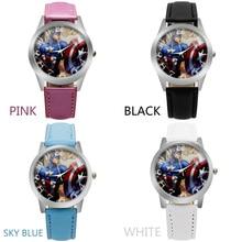 ot Sport watches kids Cartoon iron Man Captain America Hulk boys Wristwatch boy Wrist Watch Quartz Watch
