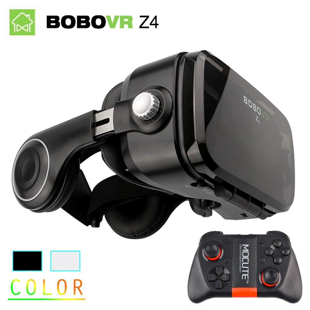 D'origine BOBOVR Z4 3D Réalité Virtuelle VR Lunettes Casque Stéréo Boîte BOBO VR pour Smartphone avec Télécommande