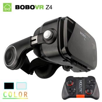 Original BOBOVR Z4 3D réalité virtuelle VR lunettes casque stéréo boîte BOBO VR pour Smartphone avec télécommande
