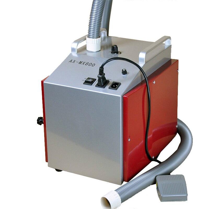 Стоматологическое лабораторное оборудование, малошумный AX MX800, стоматологический вакуумный пылеуловитель с переключателем для удаления п