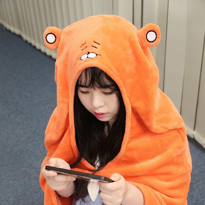 Himouto! Umaru-chan Cloak Anime Umaru chan Doma Umaru Cosplay Costume Flannels Cloaks Blanket Soft Cap Hoodie