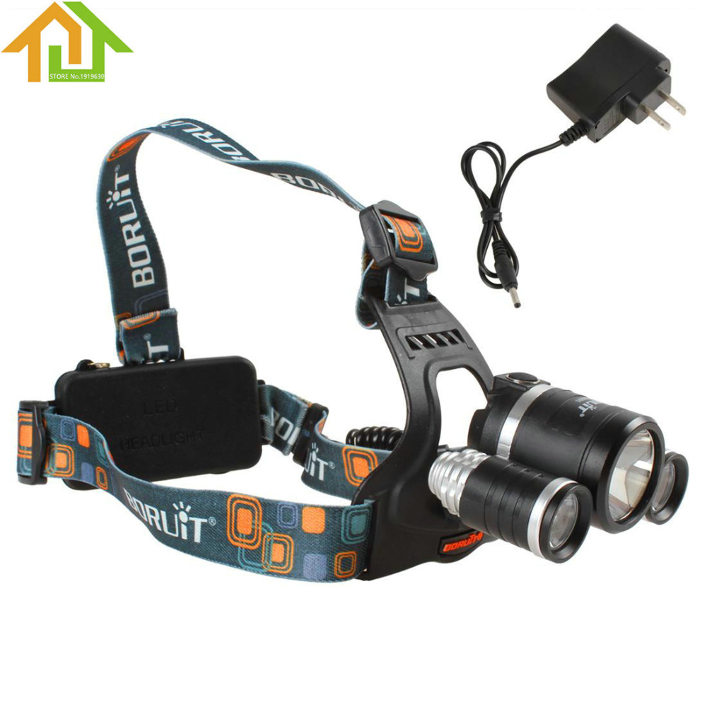JR 3001 5000LM 1X CREE XM L T6 LED 2X CREE XP G R5 LEDs Super