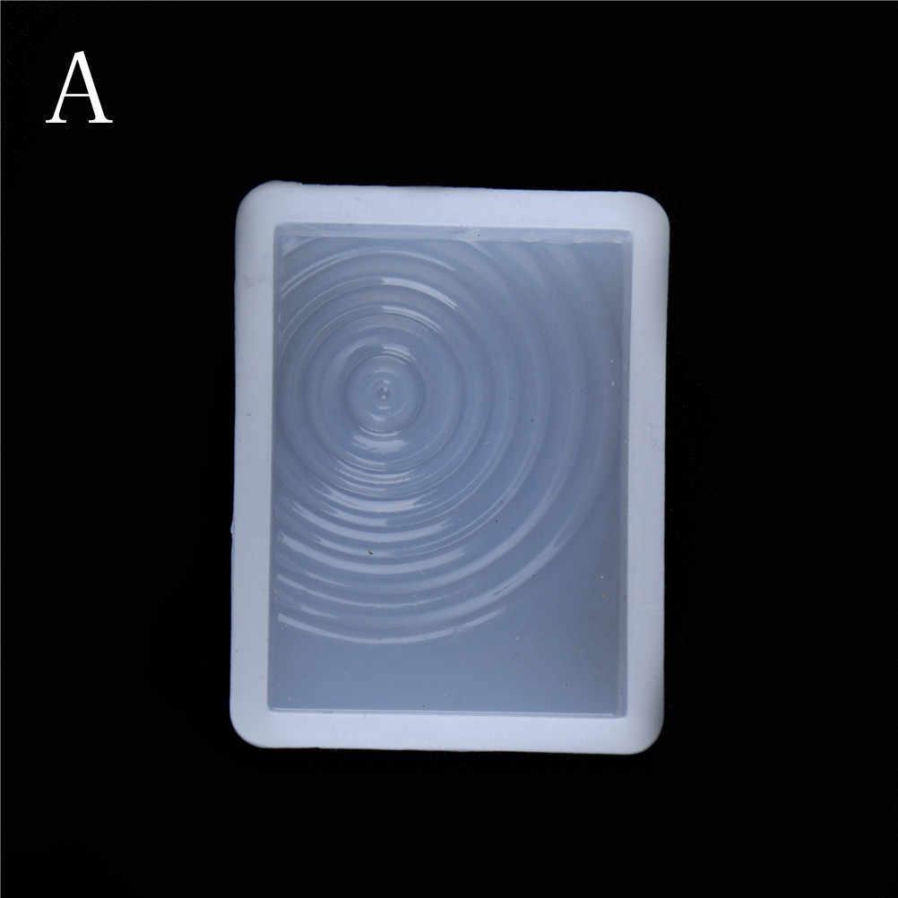 1 pieza de moldes de silicona y epoxi de fundición de resina con forma de gota de agua para formas de resina, pulsera de diamantes de cristal, colgante, joyería, molde de cúpula