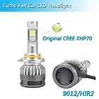 Inlong com samsung csp mini h4 led h7 12000lm h1 h11 lâmpada led h8 h9 9005 hb3 9006 hb4 carro farol lâmpadas 6000 k luzes de nevoeiro 12 v - 4