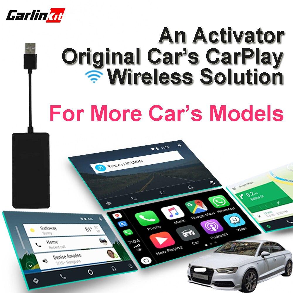 Carlinkit activateur sans fil CarPlay pour Audi Porsche Wolkswagen voiture d'origine Volvo avec CarPlay (pré-vente)