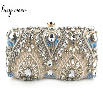 Exquisite Luxury Diamond Rhinestone Clutch  2