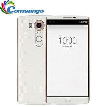 "Оригинальный разблокирована LG V10 h900 h961n 5.7 ""4 ГБ Оперативная память 64 ГБ Встроенная память гекса core Snapdragon 808 3 Камер 2560*1440 смартфон"