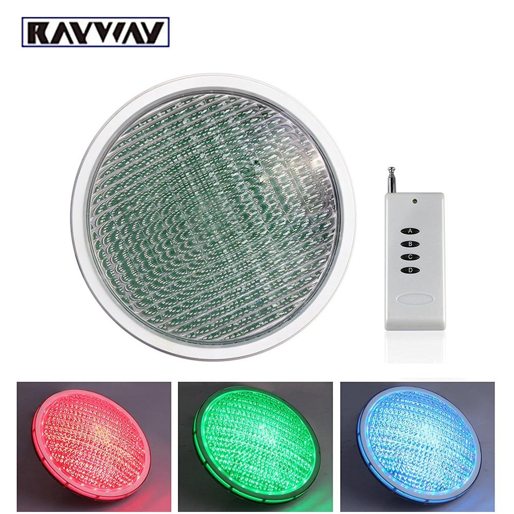 LED PAR56 pool light 54W 12V RGB IP68 18led LED Swimming Pool Light Outdoor Lighting Underwater