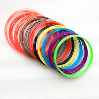 20 color 10M a roll or 10 color/set or 20 color/set 3D Filament ABS 1.75mm Plastic Rubber Printing Material For 3D Printer Pen 3D Printing Materials