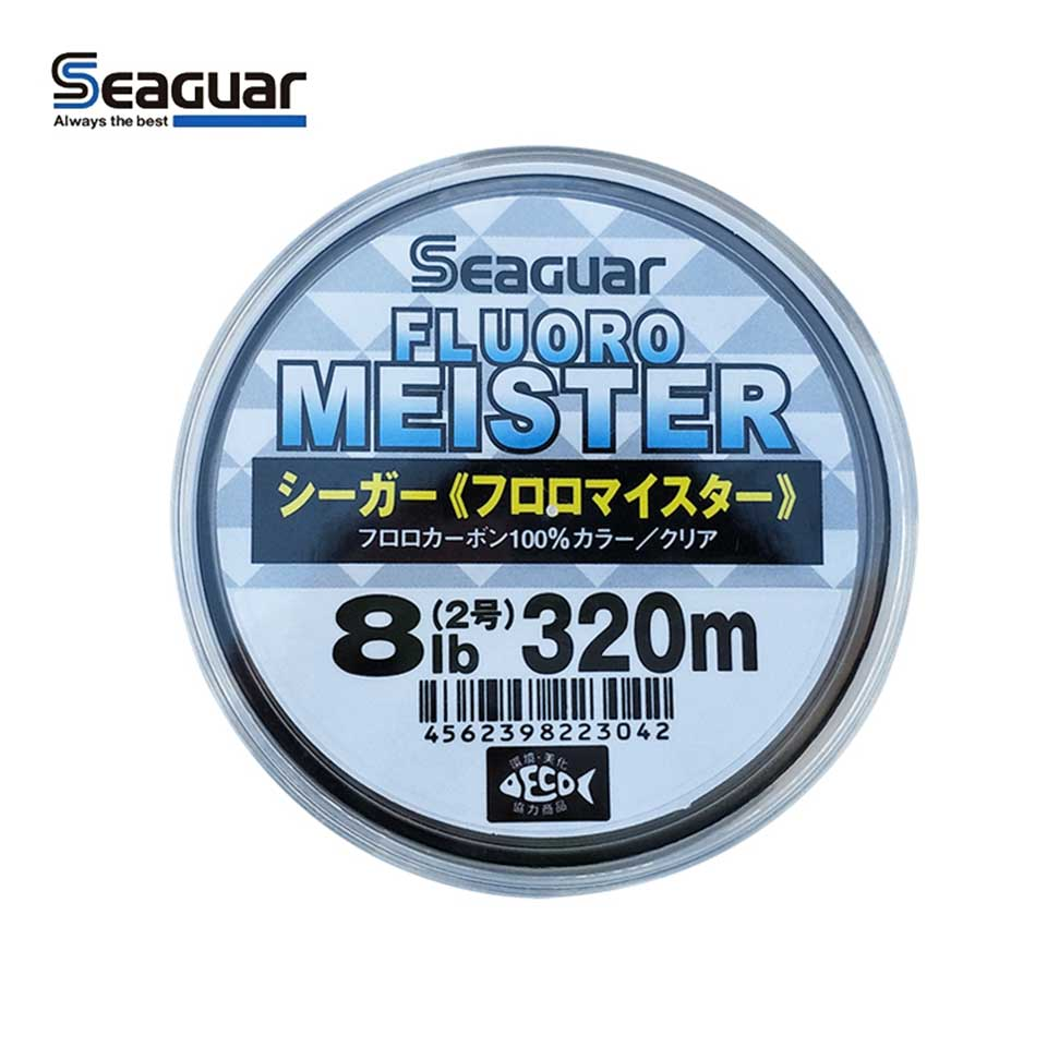 Original Seaguar Fishing Line FLUOROCARBON MEISTER 320M/240M Fluorocarbon Fishing Line Wear Resistant Made In Japan