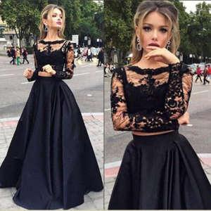 Thefound Women Long Dress Party Evening Ladies Black 533e36b22