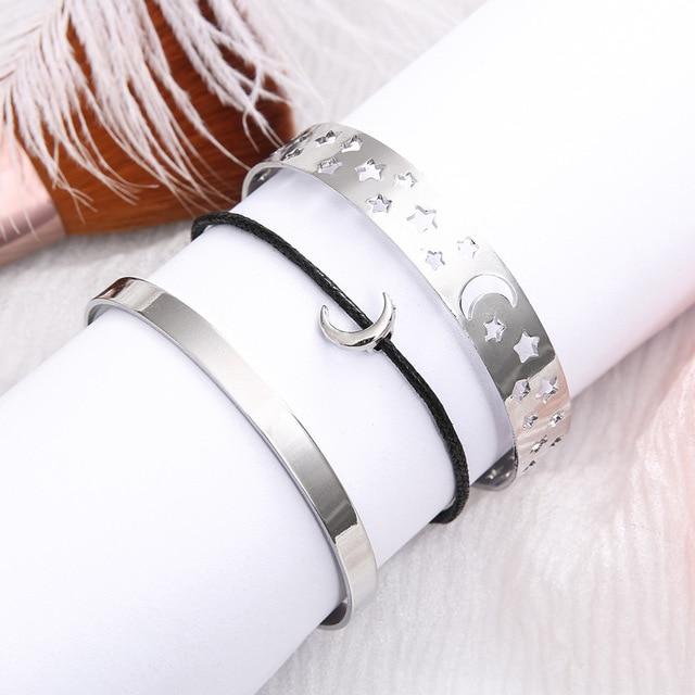 3 Pcs/set Open Bracelets...