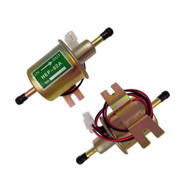 Alta Qualidade New Universal Diesel Gasolina Gasolina Bomba Elétrica De Combustível HEP-02A de Baixa Pressão 12 V