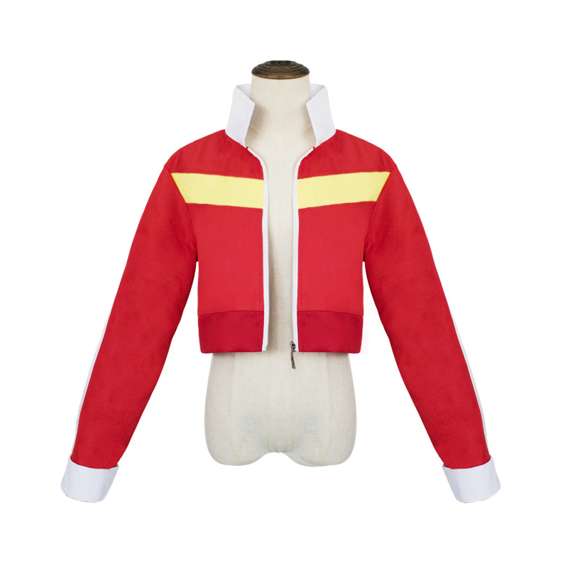 Voltron Legendary Defender Keith Red Jacket Cosplay Costume Defender Of The Universe Men Women Halloween Party Uniform