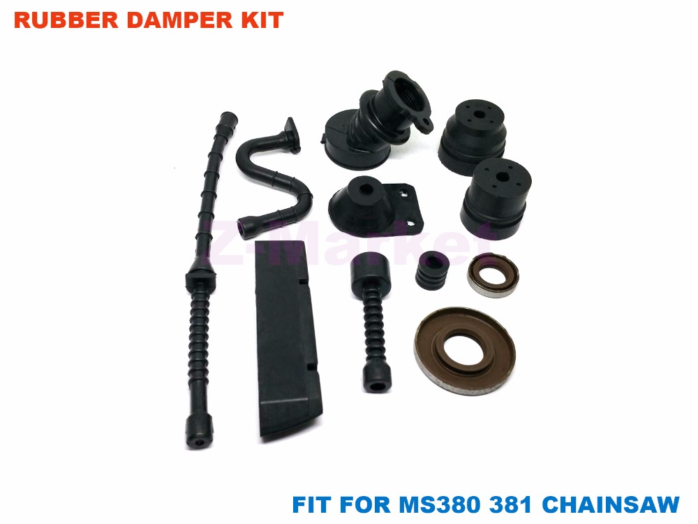 US $16 0 |Rubber Damper Kit for STIHL MS380 MS381 Chainsaw 2 Stroke Engine  Garden Tools Spare Parts-in Tool Parts from Tools on Aliexpress com |
