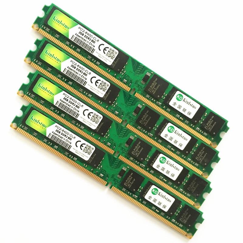 INTEL y AMD escritorio DDR2 533 de 667 a 800 Mhz 1Gb 2Gb 4 Gb/memoria ddr2 ram 4Gb 800 Mhz/ddr2 4gb de memoria PC2-Garantía- Kembona original chips marca PC de escritorio DDR2 1 GB/2 GB/4 GB 800 MHz/667 MHz/533 MHz DDR 2 DIMM-240-Pins escritorio memoria Ram