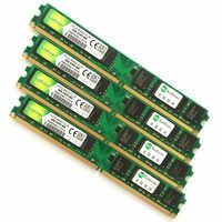 Para intel & amd desktop ddr2 533 667 800 mhz-1 gb 2 gb 4 gb/memoria ram ddr2 4gb 800 mhz/ddr2 4gb memória pc2-garantia vitalícia-