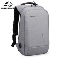 Kingsons New Arrivals Men Backpack For 13 15 6inches Laptop Backpack Large Capacity Casual Style Bag