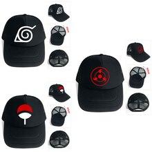 OHCOMICS Anime NARUTO Ninjia pasado negro de algodón + poliéster sombrero  gorra de béisbol gorras gorra sombrero traje accesorio. a8cbc63602d