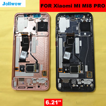 For Xiaomi Mi8 PRO Mi 8 Explorer In-Screen Fingerprint LCD Display+Touch Screen Digitizer Assembly Replacement for mi8PRo lcd цены
