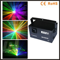 DMX + ILDA + SD + 2D + 3D Multi color 1 w 1.5 W rgb de luz láser/dj luces de la etapa/luz de luz láser/láser proyector