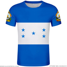 HONDURAS t shirt diy free custom made name number hat t shirt nation flags hn country print photo logo honduran spanish clothing