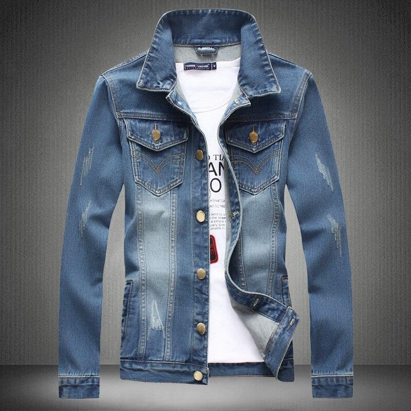 Chaqueta de mezclilla jeans denim jacket chaquetas para
