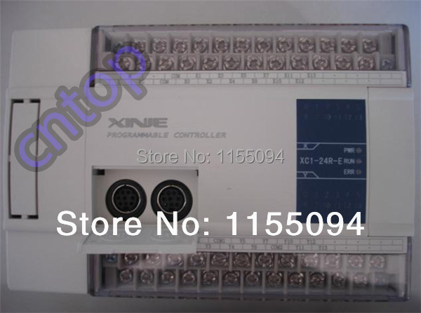 XC1-24R-E XINJE XC1 Series PLC AC220V DI 12 DO 12 Relay new in box xc e8x8yt xinje xc series plc digital i o module di 8 do 8 transistor new in box
